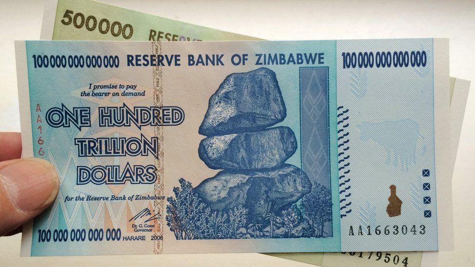 100 trillion zimbabwe dollar- unlimited paisa-hyper inflation mudra-sfiti